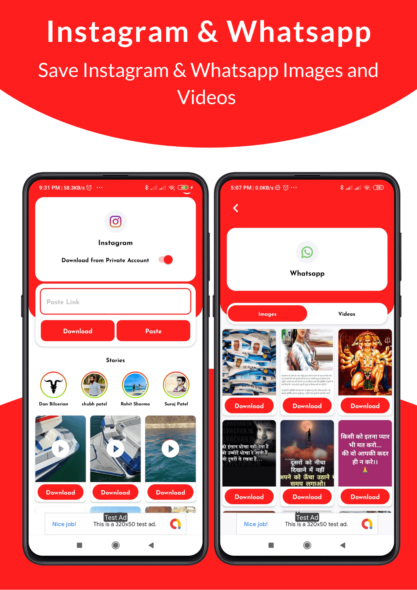 All in One Status Saver - SnackVideo, ShareChat, Roposo, Likee, Whatsapp, FB, Insta, TikTok, Twitter - 6